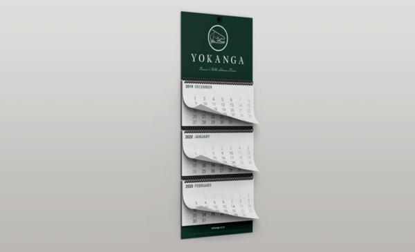 Календари на трех пружинах
